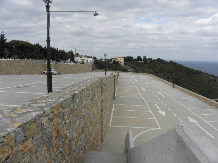 Διαμόρφωση χώρου στάθμευσης στον οικισμό Παλιάς Αλοννήσου