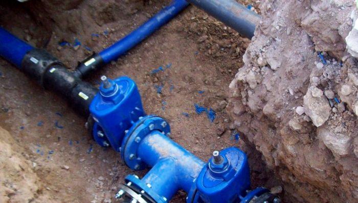Εργα ύδρευσης δίκτυου Αλοννήσου